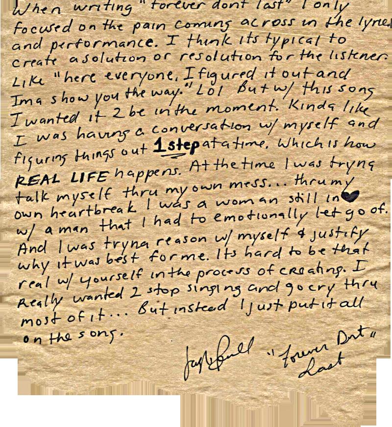 Jazmine Sullivan Pens Open Letter Regarding New Single