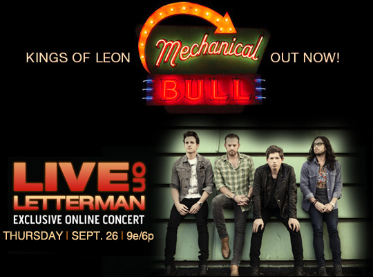 Mechanical Bull by Kings of Leon available NOW!