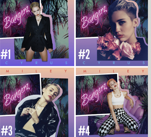 Miley - Vote the deluxe cover