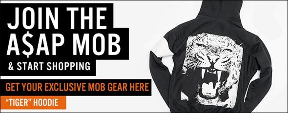 Get your A$AP Mob gear @ ASAPMobShop.com