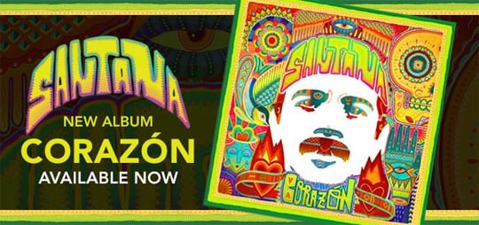 CLICK TO DOWNLOAD THE NEW SANTANA ALBUM