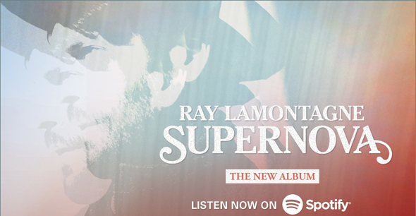 Stream the new Ray LaMontagne album SUPERNOVA now on Spotify